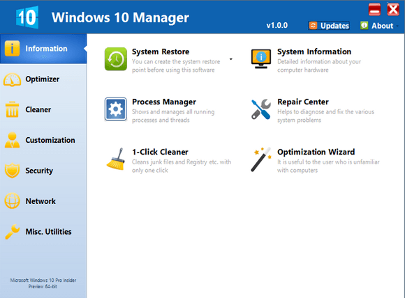 تحميل Windows 10 Manager
