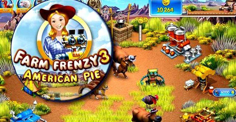 تحميل لعبة 3 farm frenzy