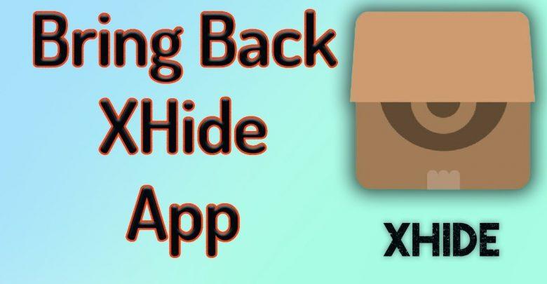 تحميل برنامج xhide أحدث إصدار