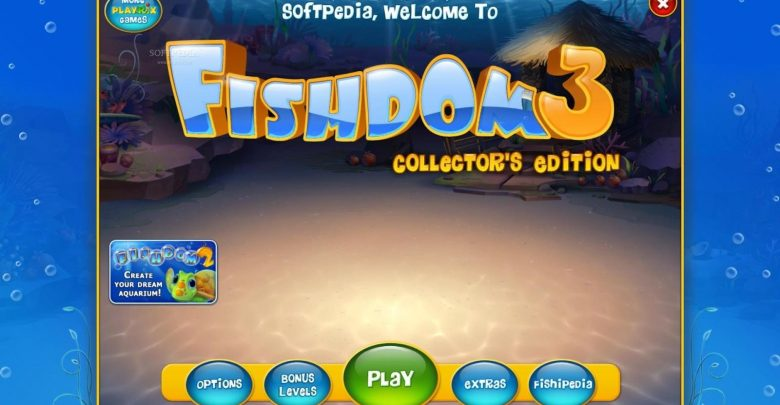 تحميل لعبة السمكة 3 برابط مباشر