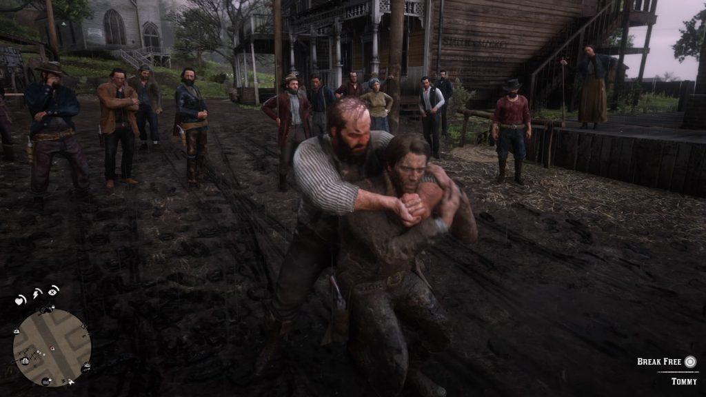 شرح لعبة red dead redemption 2شرح لعبة red dead redemption 2