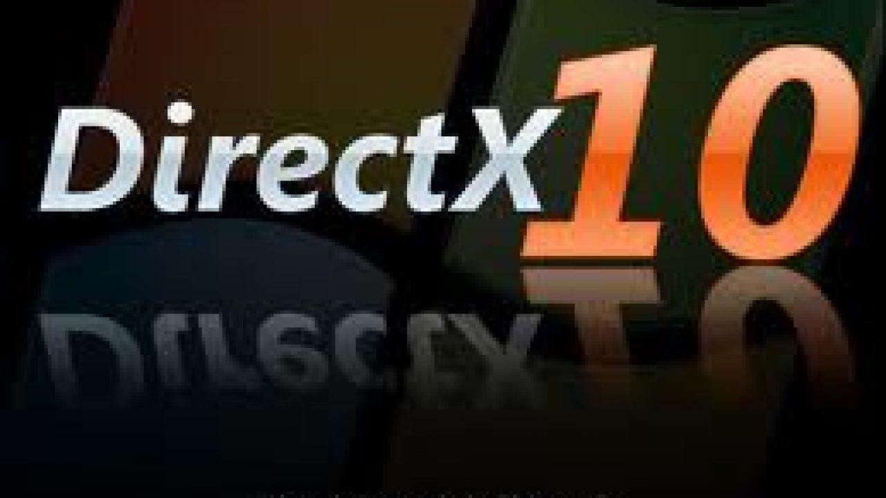 تحميل برنامج directx 10 لويندوز 7 برابط مباشر