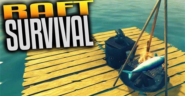 تحميل لعبة وحيد في المحيط Raft Survival Simulator برابط مباشر