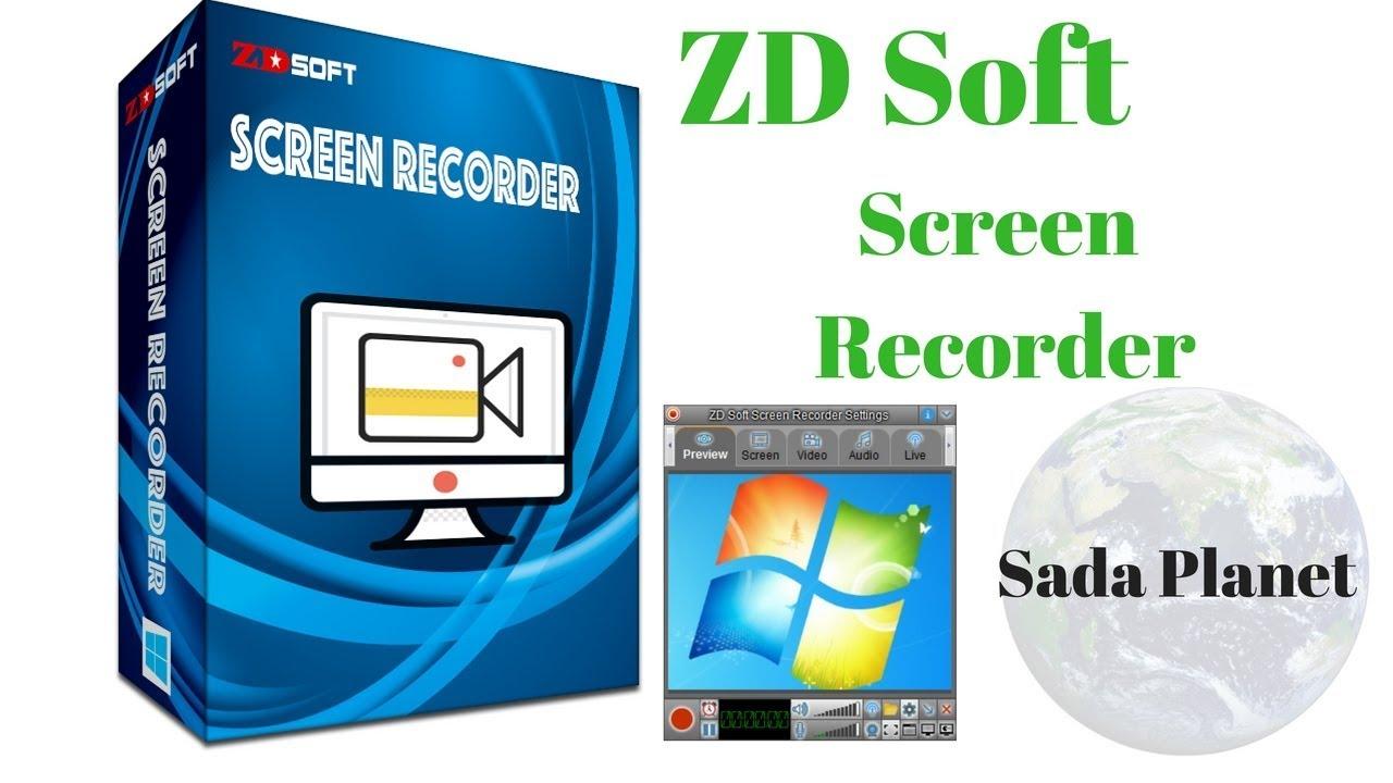 تحميل برنامج تسجيل الشاشة ZD Soft Screen Recorder برابط مباشر