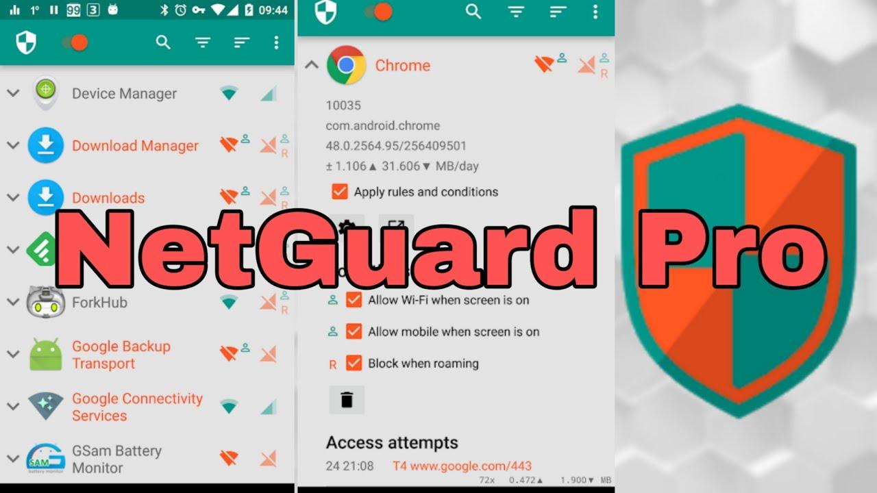 تحميل برنامج جدار ناري بلا روت NoRoot Firewall برابط مباشر