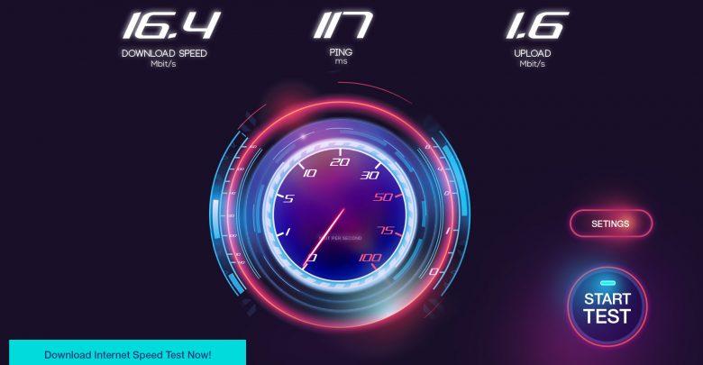 تحميل برنامج قياس سرعة النت Speed Test برابط مباشر