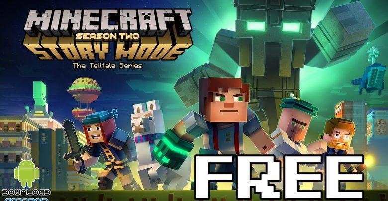 تحميل لعبة Minecraft story mode للأندرويد برابط مباشر