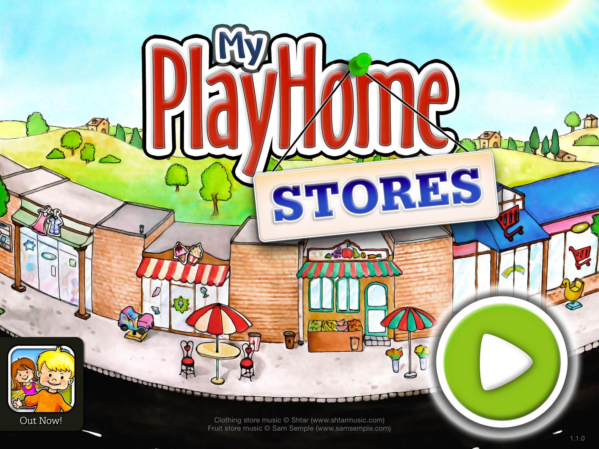 تحميل لعبة my play home stores مجانا