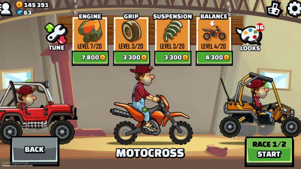تحميل لعبة hill climb racing 2 أحدث إصدار