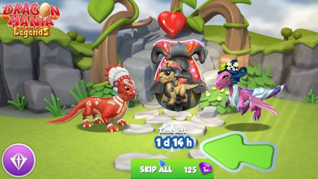 تحميل لعبة dragon mania legend أحدث إصدار