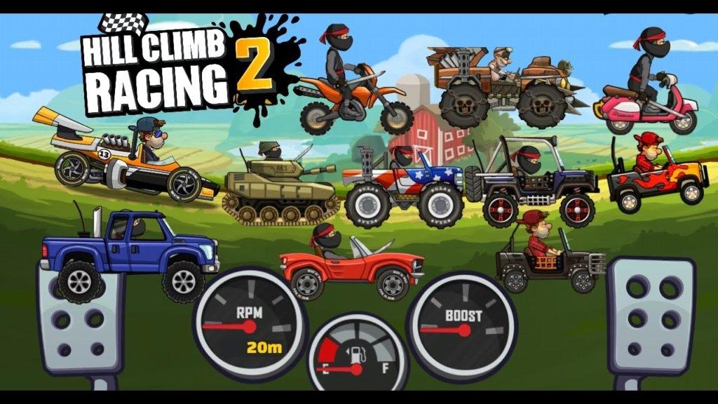 تحميل لعبة hill climb racing 2 برابط مباشر ميديا فاير