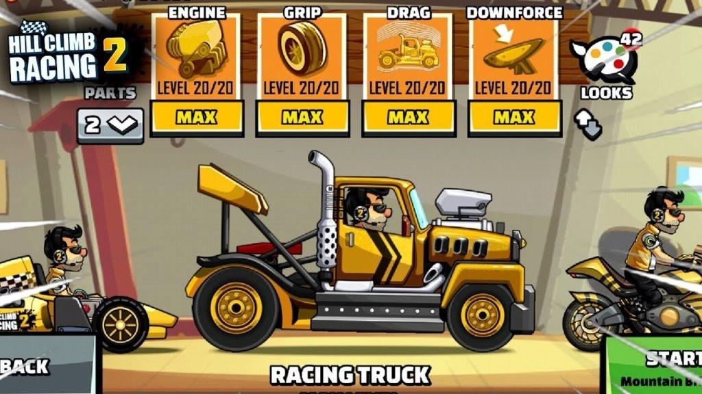 شرح لعبة hill climb racing 2
