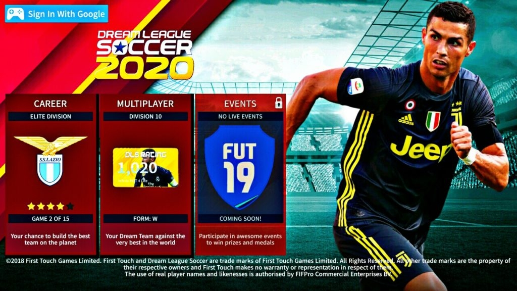 شرح لعبة dream league soccer 2020