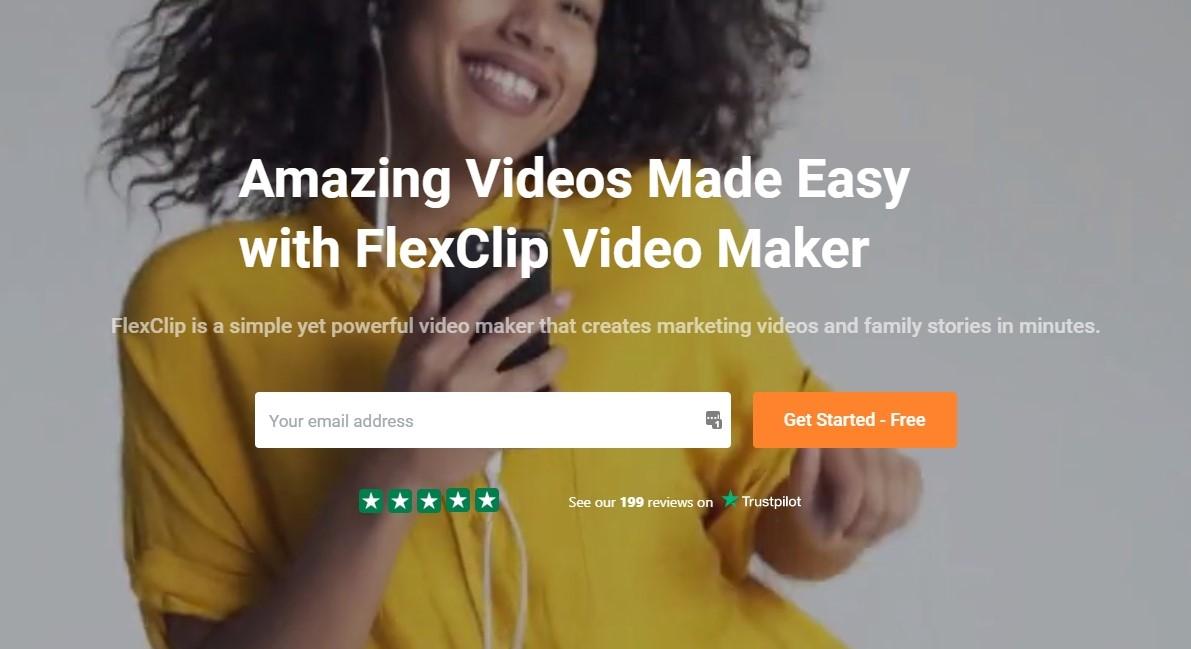 مميزات موقع تعديل الفيديو FlexClip