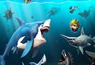 تحميل لعبة hungry shark world أحدث إصدار