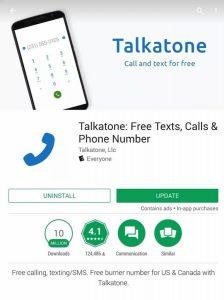 Talkatone APK تحميل